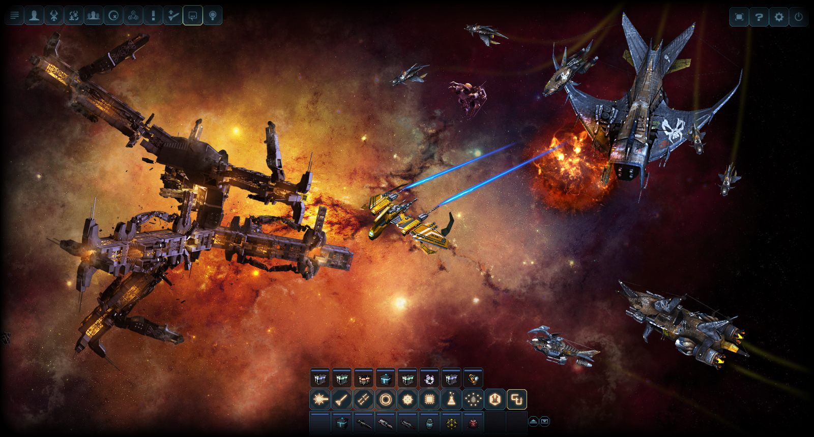 DarkOrbit Reloaded | MMO & space shooter